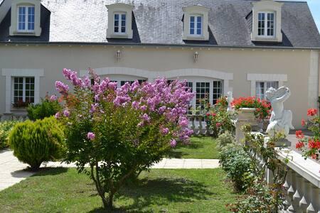 BELLE DEMEURE EN PAYS DE LOIRE. - La Tour-Saint-Gelin - Hus