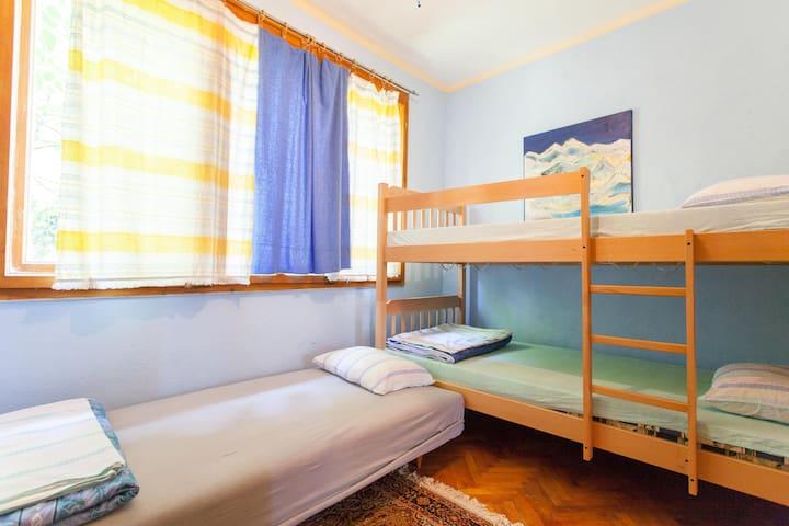 IKAR hut /  3-Bed Dorm - Ohrid - House