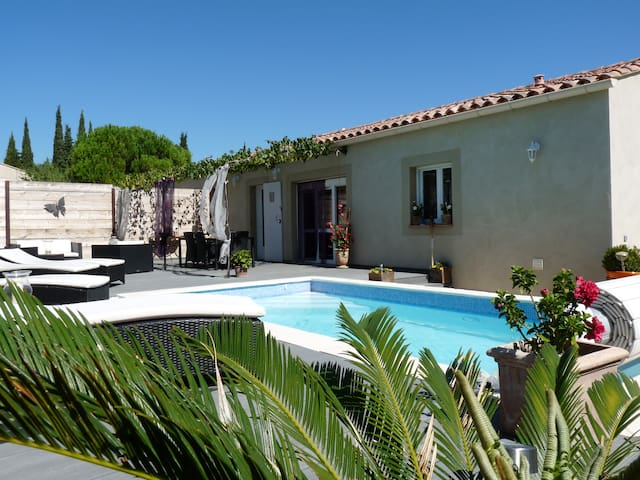 Villa Les lauriers roses (6 people) - Tavel - Villa