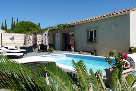 Villa Les lauriers roses (6 people) - Tavel