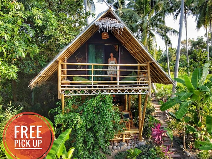 Seaview ECO LOFT 💚 bamboo bungalow