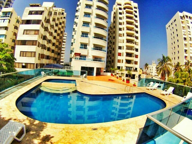 Great Cartagena beach apartment