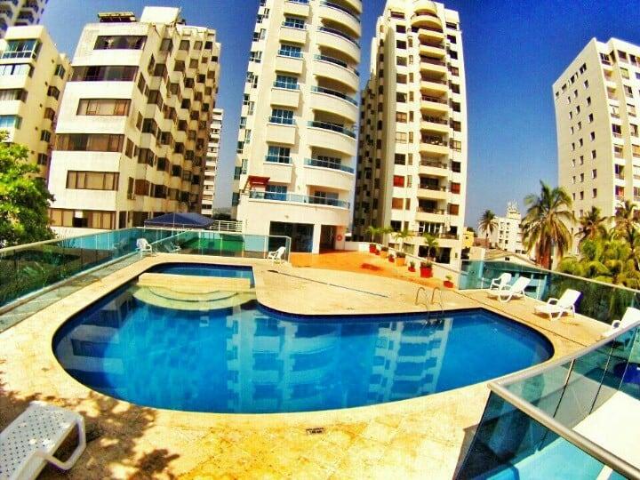 Great Cartagena beach apartment