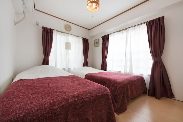 Family stay at 3 bedroom near Ueno for 7 Guest