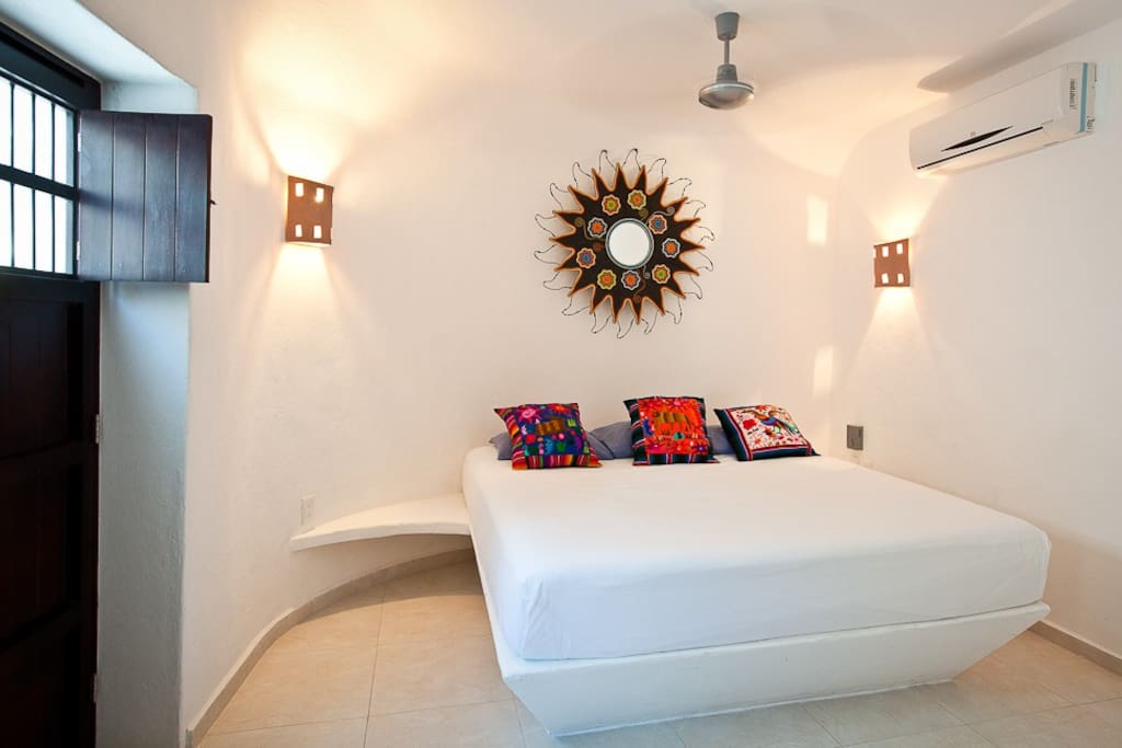 Sugar 2nd bedroom at Cozumel Suites&Apartments Rentals.