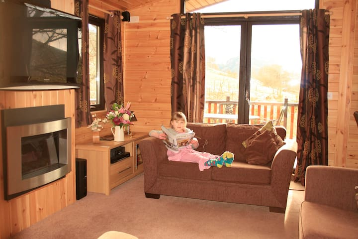 3 bed luxury log cabin - Lochearnhead - Chalet