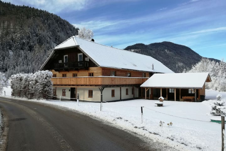 Scenic Farmhouse in Abtenau on Cross-Country Skiing Route