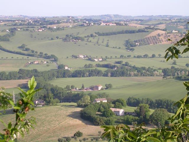 La Casa Sulle Colline - Montefano - Lejlighed