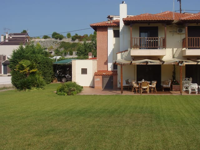 OSRIA, 2 LEVEL HOUSE SEA VIEW - Chalkidiki - Ev