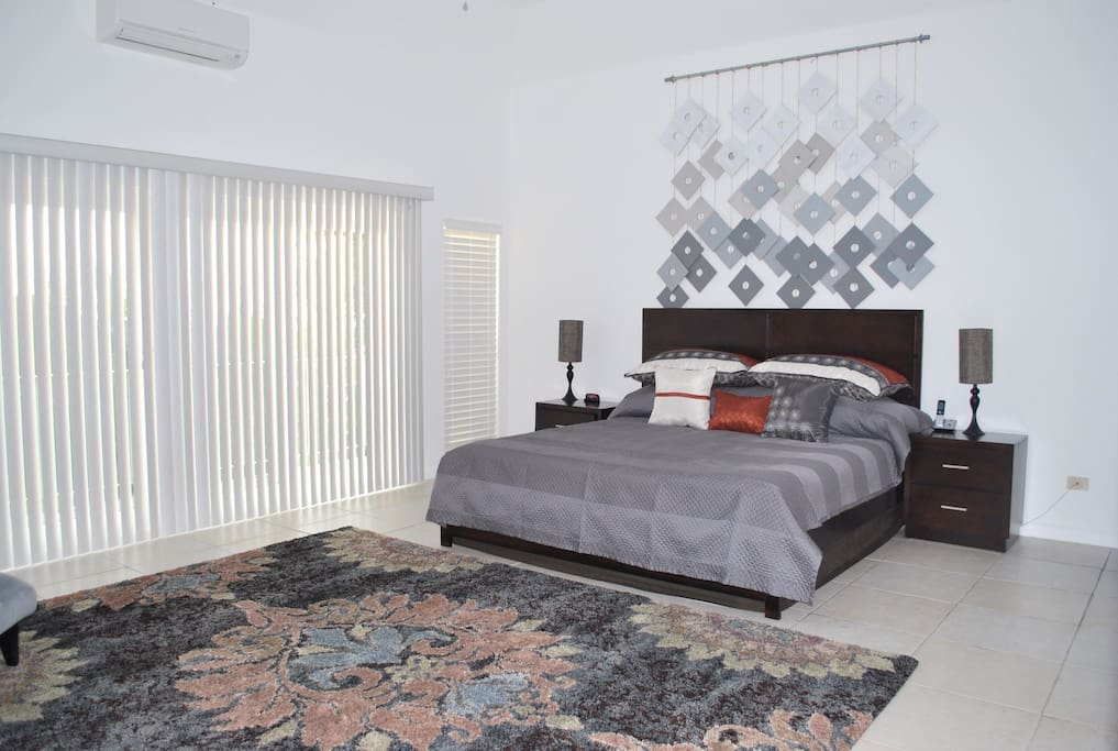 Another angle of the Exquisite Master Bedroom!