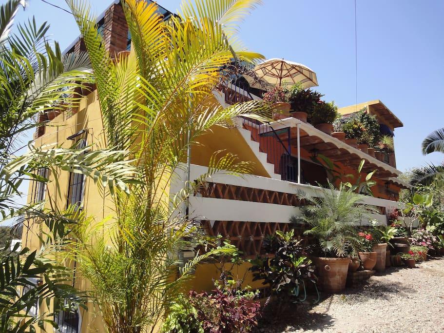 Casa Pacifica B&B in Chacala, Nayarit, Mexico