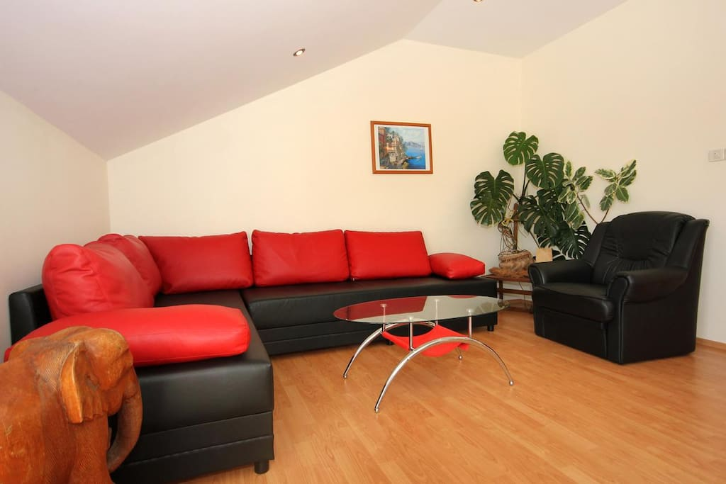 Living room, Surface: 13 m²