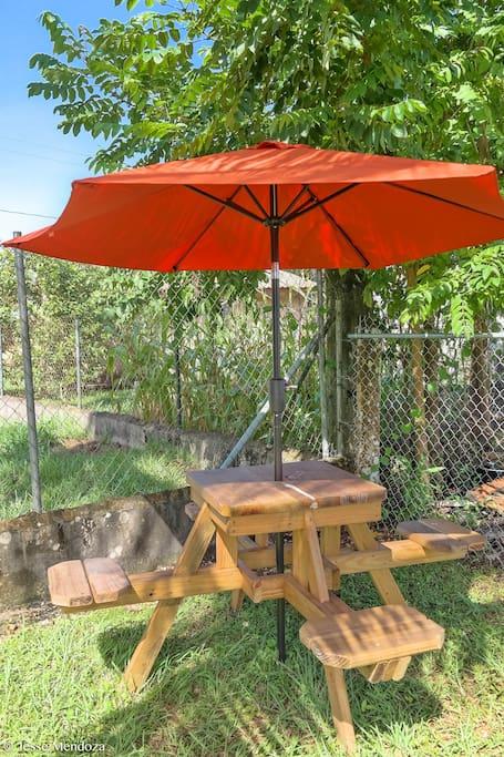 Backyard Picnic Table