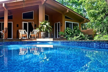 Casa Pelicano 3bed beachhse w/pool Surf & Boogiebd - Palm Beach Estates Playa Grande