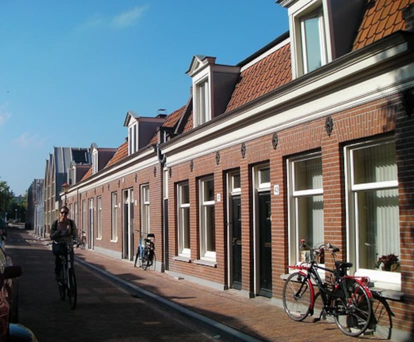 Very charming home and lush garden west stadswoningen for Te koop amsterdam noord