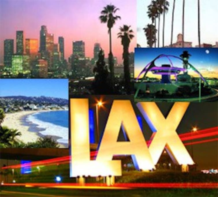 Good Vibe is close to all of LA's best; Beach, City, LAX!