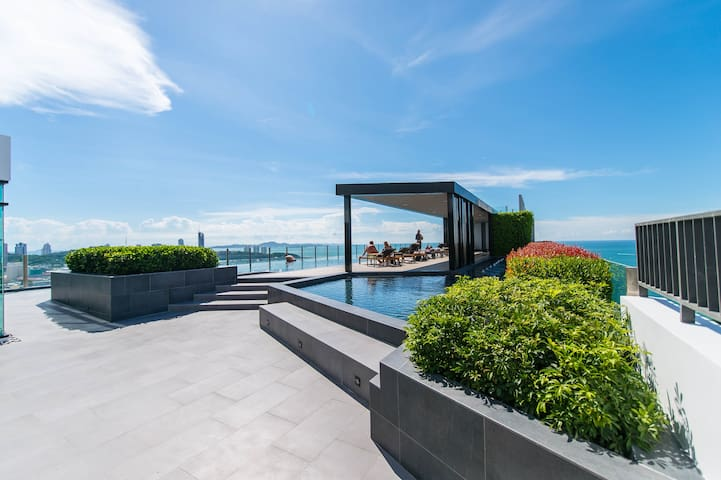 Sea view- Luxury Condo Pattaya - Muang Pattaya - Apartamento