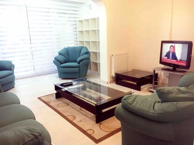Private Villa flat with 2 Bedroom Great Location