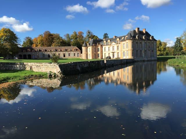 Château  1 heure de Paris , 15chambres - Montigny-sur-Avre - Замок