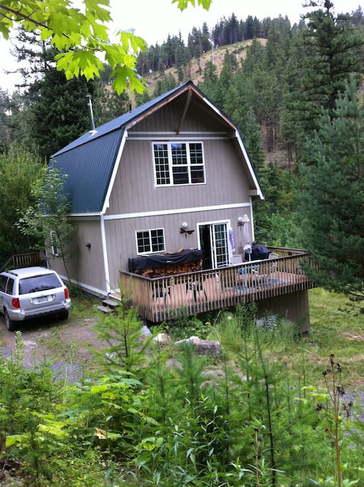 Mountain cabin near leavenworth wa cabins for rent in for Leavenworth cabin rentals