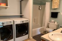 Upstairs Bathroom - Full, with Washer/Dryer