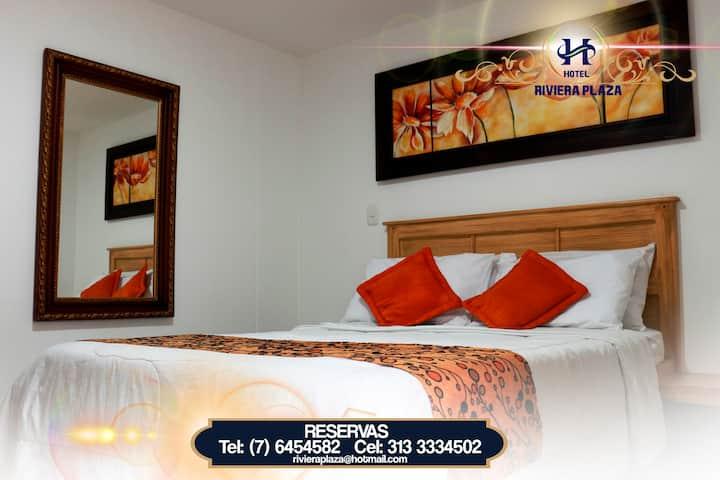 Habitaciones Cómodas en Hermoso Hotel