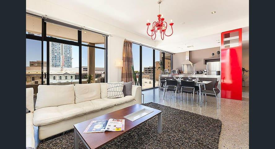 Modern Apartment in Perth CBD - Perth - Apartamento