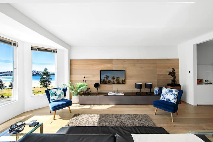 Stunning 2-Bed Unit on Bondi Beach with Ocean View