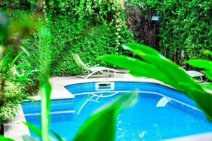 Appartement meublé Bonanjo avec piscine