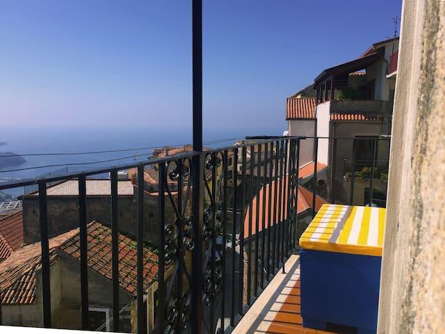 Panorama balcone