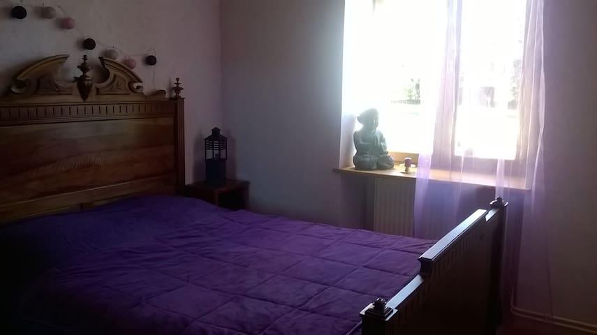 chambre 2 personnes - Ribérac - Casa