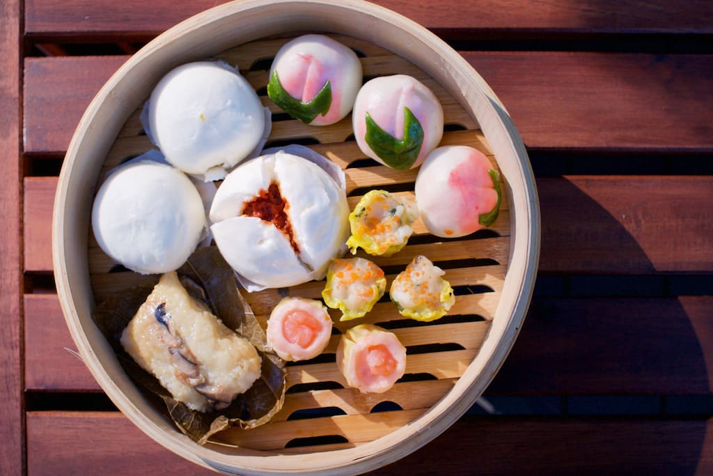 We provide Chinese traditional Dim Sum breakfast once per stay or every three days of the stay