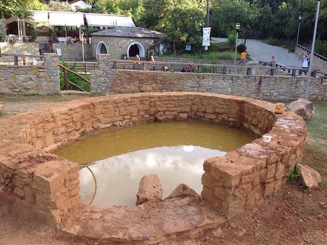 Thermal springs Villa Kokkino Nero