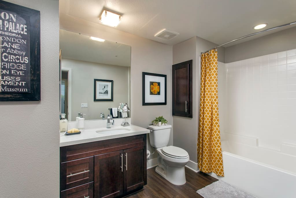 Stock Photo of Guest Bathroom