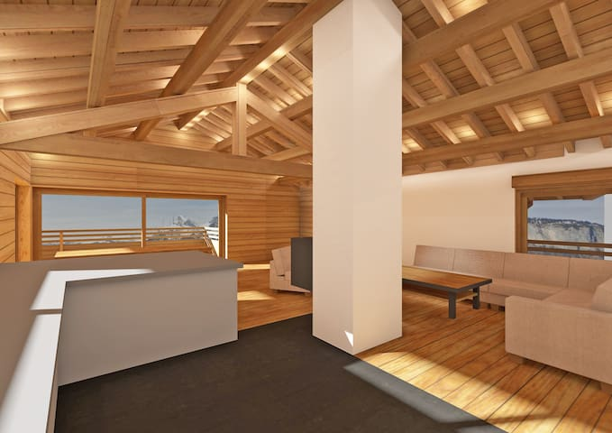 Luxury Mountain Chalet Residence Les Carroz - Arâches-la-Frasse - Chalet