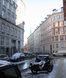 Family friendly apartment in hipster Noerrebro - Copenhague