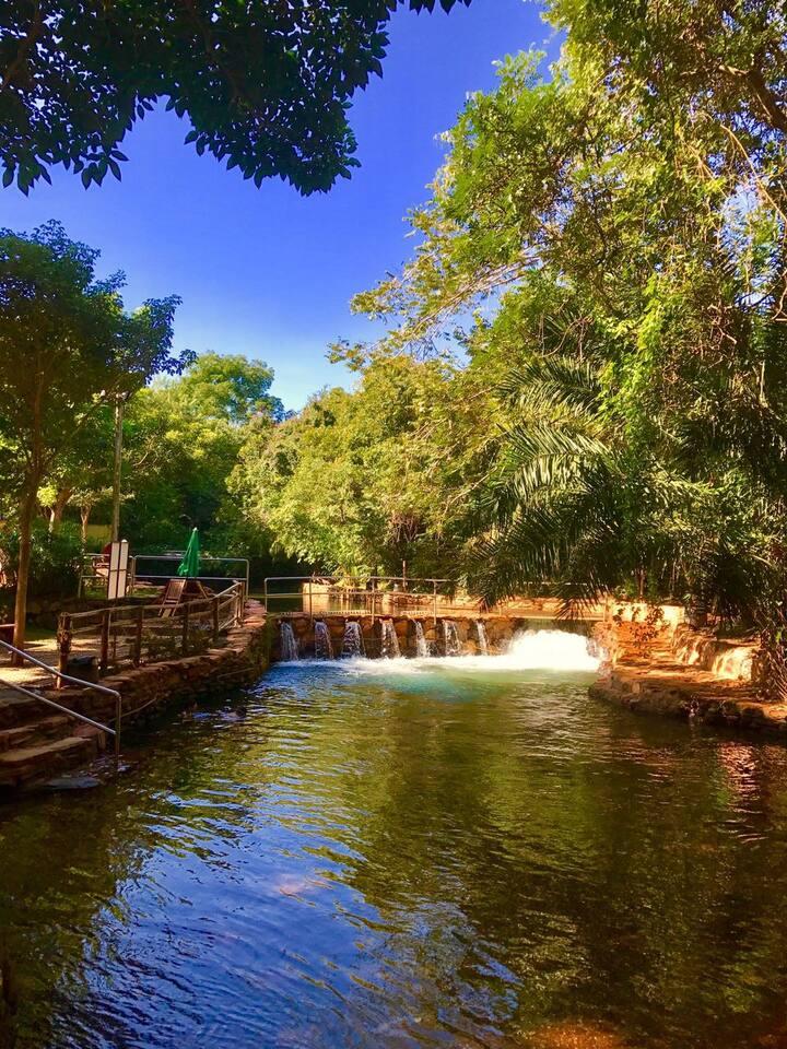 Thermas Paradise - Acesso ao Rio Quente.