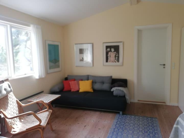Mit gæstehus,  fred og ro i smukke omgivelser