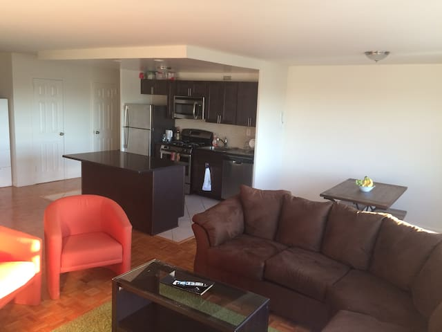 Large 1 bedroom - Easy commute to NYC and Metlife - Passaic - Leilighet