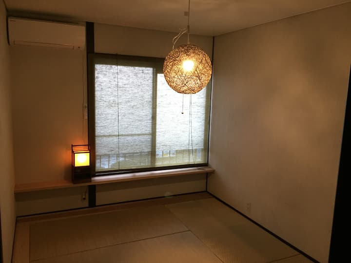 10min walking Narita station (8min to Airport)
