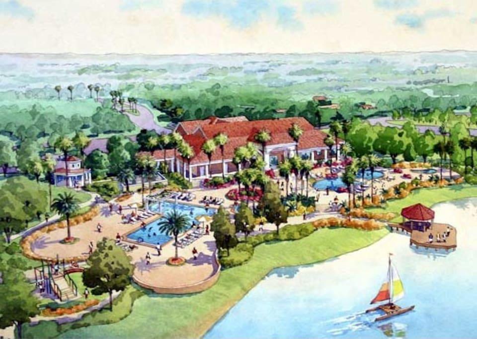 The resort sketch