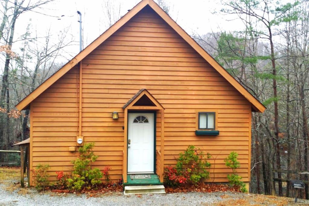 Cozy bear cabin cabins for rent in sevierville for Little bear cabin in gatlinburg tn