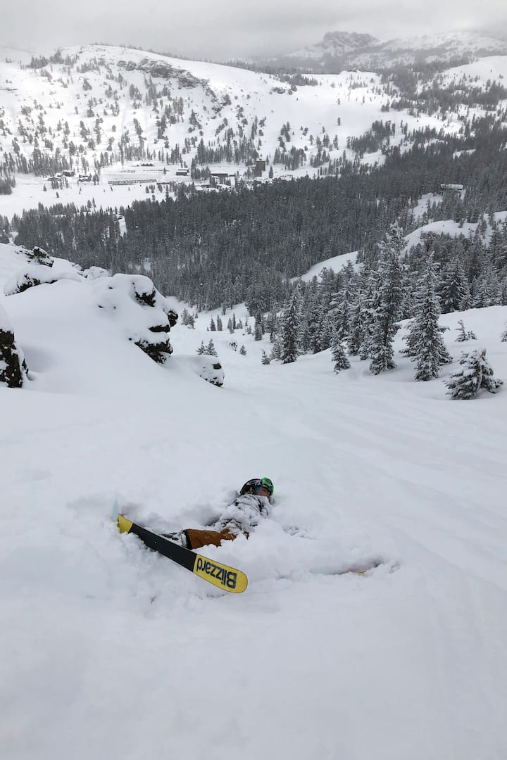 Demonstration of snow immersion safety