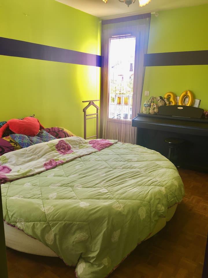 Chambre cosy à 15 minutes de Paris