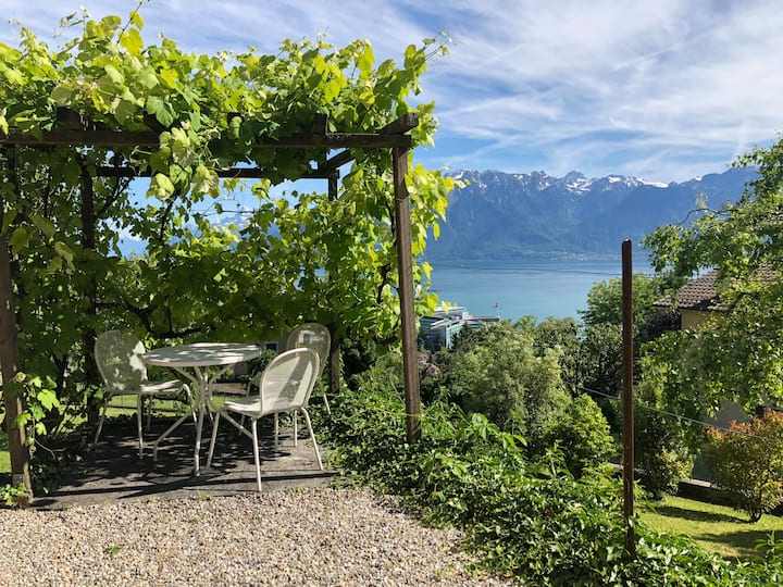 Little paradise with lake view / Vevey-Montreux