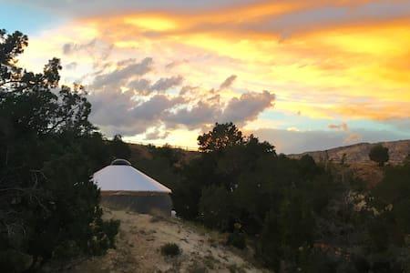 Escalante Yurt Lodging (Aspen yurt) - Escalante - Jurta