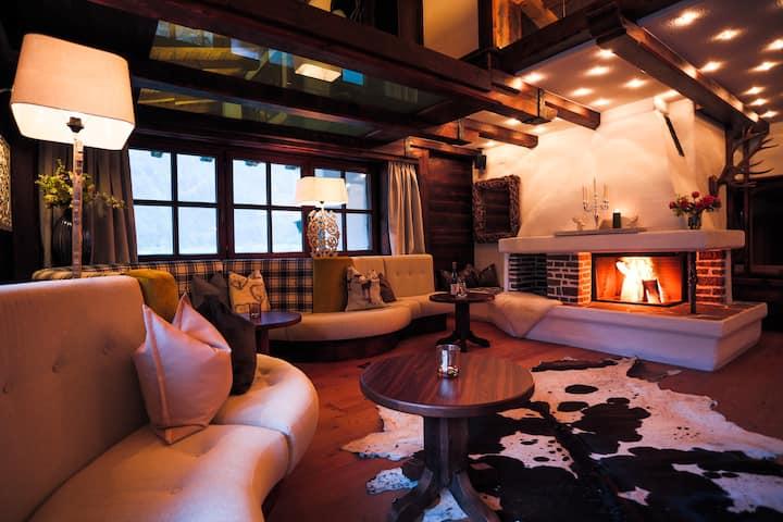 Luxusní alpský chalet s wellnesem