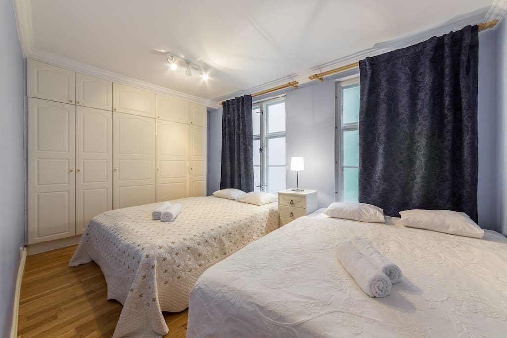 Quadruple room with 2 x dbl bed