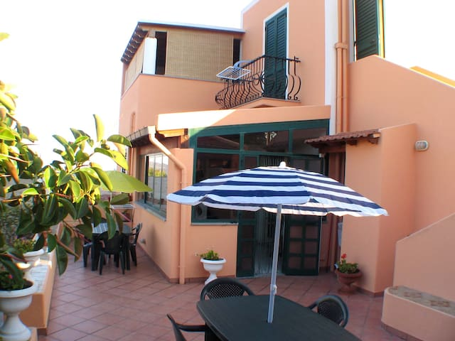 Apartment rental Lipari Pianoconte