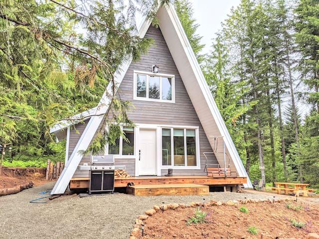 Forbidden Plateau Cabin.  A mountain oasis !...